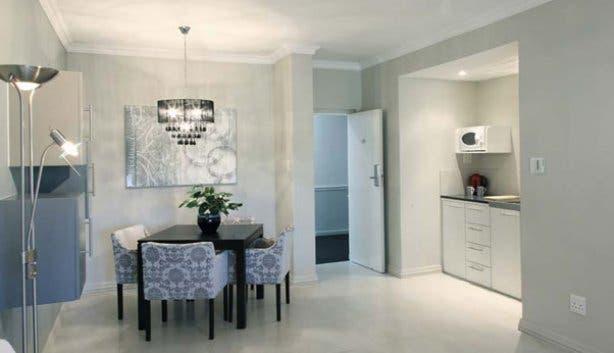 Devonvale apartment kitchen