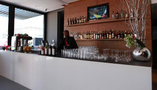 Barman at Park Inn Cape Town