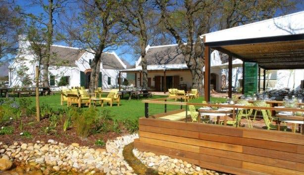 Outdoor Pierneef a La Motte Restaurant