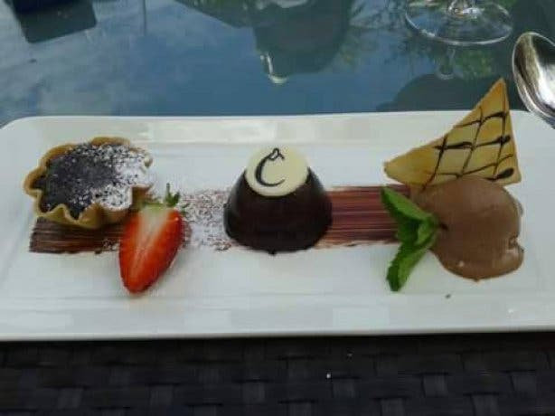 Aubergine Restaurant Food Cape Town