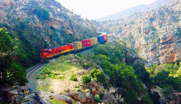 Ceres Steam Train cargo 2