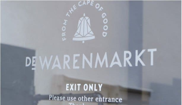 De Warenmarkt food market in Stellenbosch