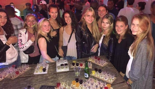 bobs bar shots cape town nightlife