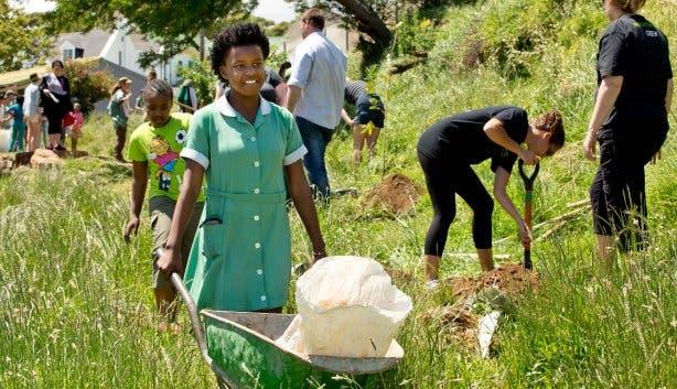 tree planting township tours kaapstad