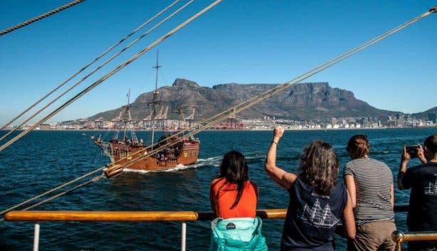 Bark Europa Kaapstad Scheveningen
