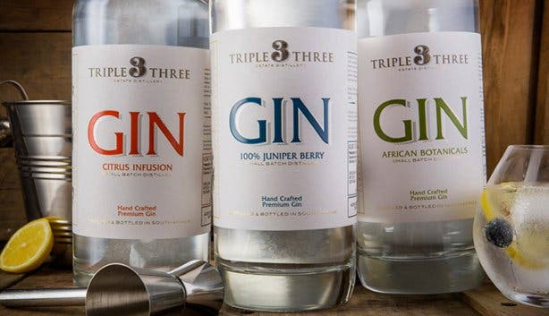 Triple Three - Gin Distilleries
