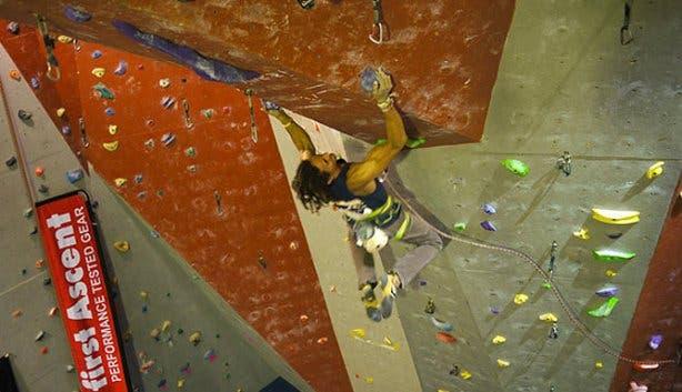 CityRock climbing wall