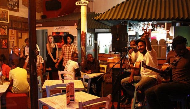 Live music Mondays at Cafe Mojito