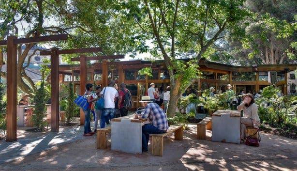 Haarlem & Hope Company's Garden Restaurant