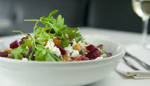 Butternut and Beetroot Salad Cafe Caprice Camps Bay