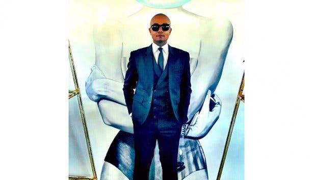 Nigel Pierce Blue Suit
