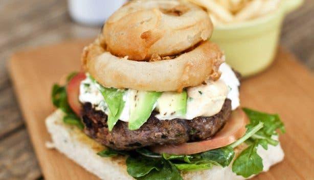 Sotano Lamb Burger Special