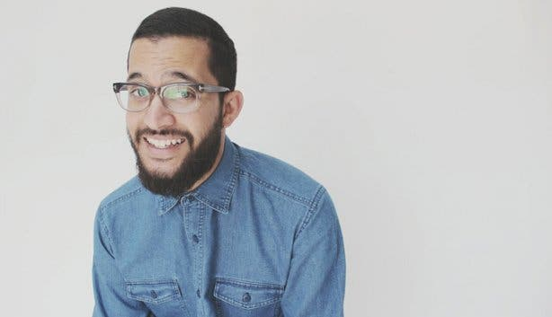 Stand-up Comedian Yaaseen Barnes from Cape Town