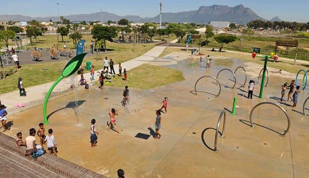 Water-wise Spray Park