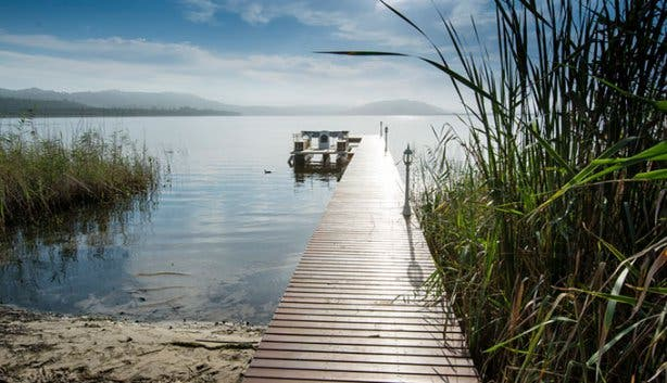 Benguela Lakeside Lodge Jetty