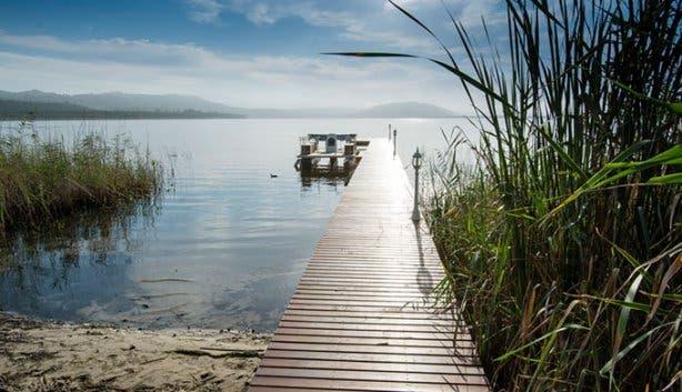 Benguela Lakeside Lodge Jetty