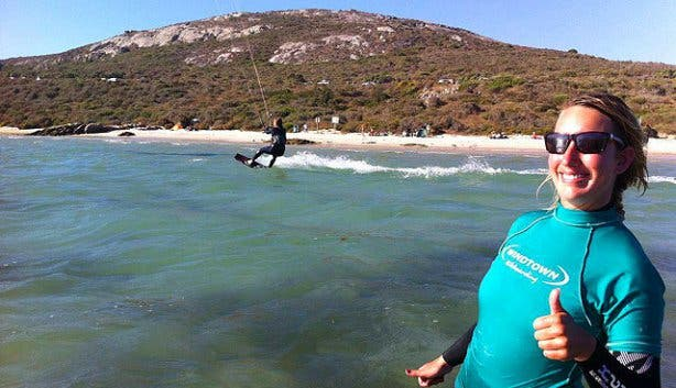 Windtown kitesurfing lessons