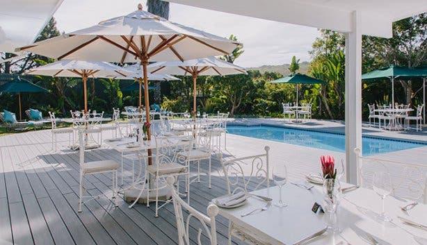 Benguela Lakeside Lodge Pool Area