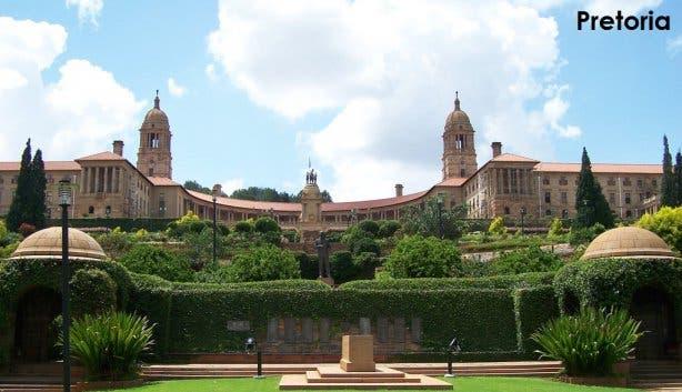 Pretoria hoofdstad Zuid-Afrika