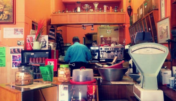 Anthony's Golden Cup Coffee Shop in Cape Town