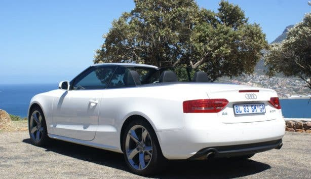 Audi Convertible Rental Cape Town