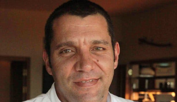 Chef Ian Bergh of De Grendel Restaurant