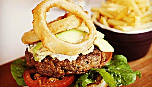 Sotano by Caveau lamb burger