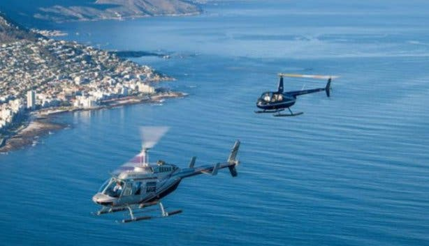 Helicopter Rides in Cape Town