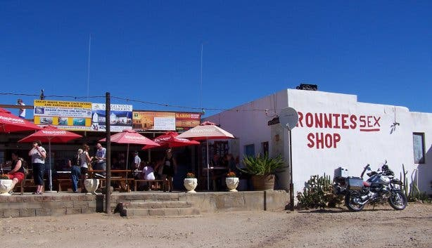 Ronnies sexshop Kaapstad Cape Town
