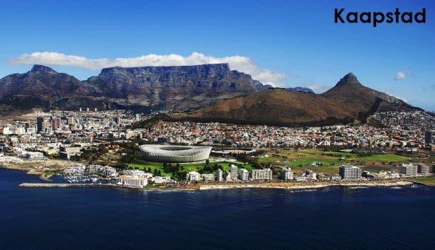 Kaapstad hoofdstad Zuid-Afrika