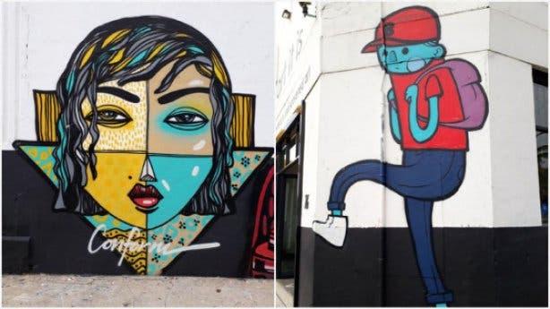 Street Art in Woodstock