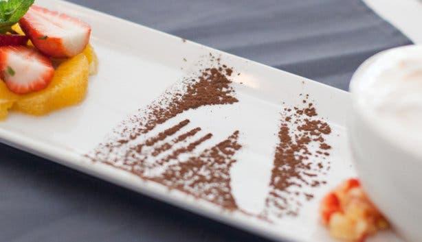 CinCin Restaurant Pretty Plate