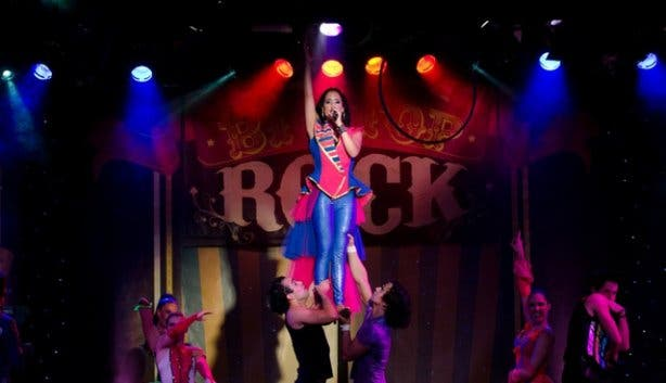 Big top rock at the barnyard theatre