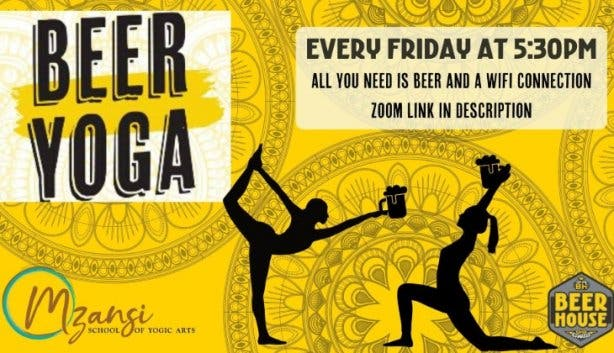 Beerhouse beer yoga