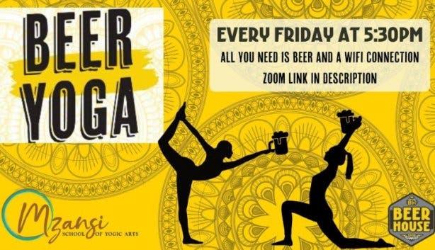 Beerhouse beer yoga