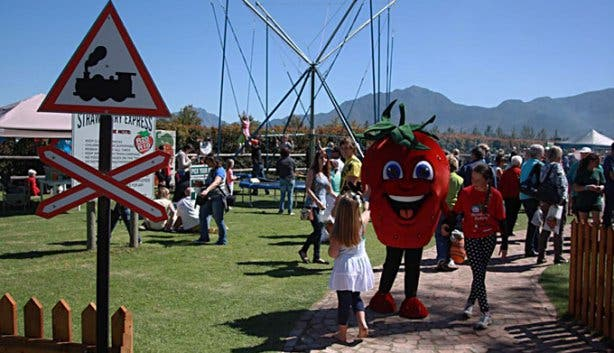 Family Friendly Strawberry Carnival in George