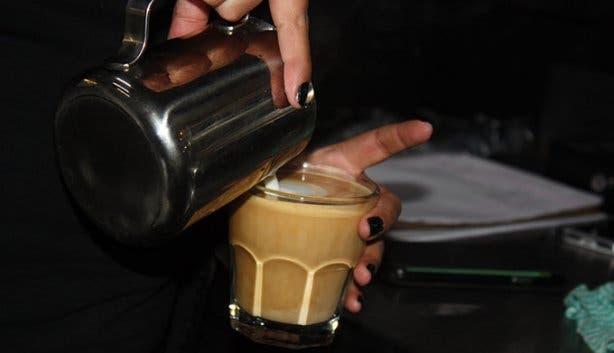 i love coffee Pouring Coffee