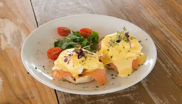 The Salt Yard Eggs Benedict