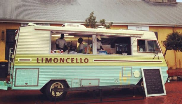 Limoncello food truck at the Biscuit Mill