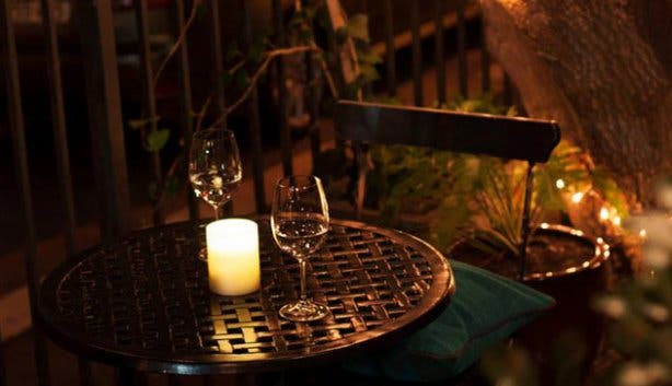 Charcoal Dining Restaurant Patio