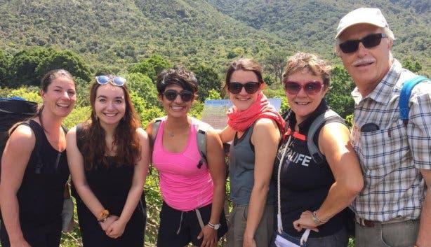 Skeleton Gorge Yoga Hike 4