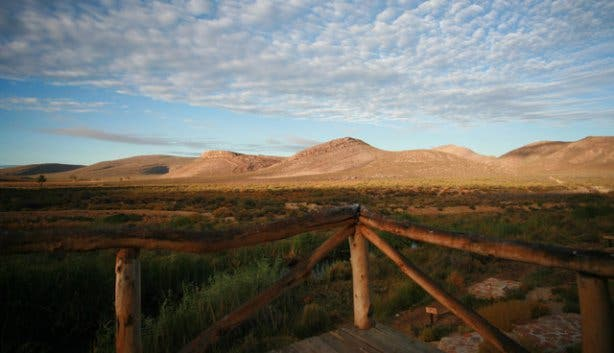 Landscape at Aquila Big Five game reserve