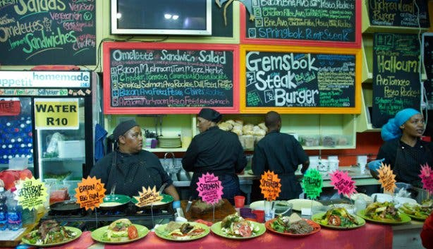 Vegetarian and Vegan food at the Hout Bay Weekend Market