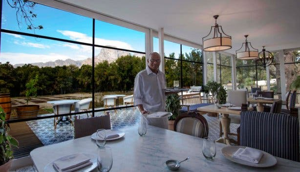 The Werf Restaurant at Boschendal Wine Estate Franschhoek