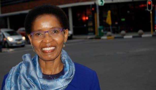Professor Pumla Gobodo-Madikizela University of Free State lecturer and coordinator at TRC
