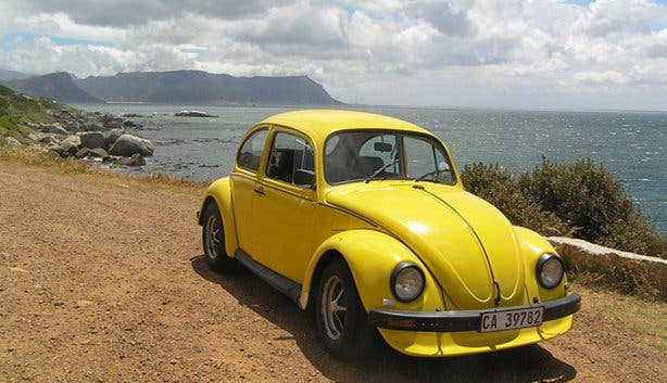 Fun Car Hire Yellow Beetle