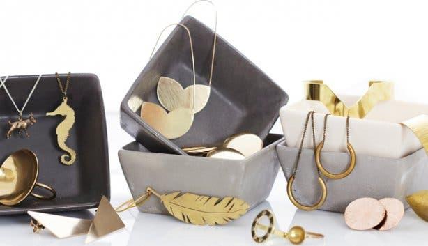 Brass Jewellery from Kin Cape Town