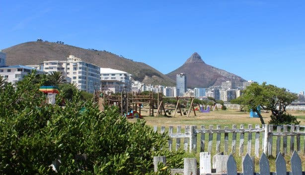 Sea Point Promenade L-head View