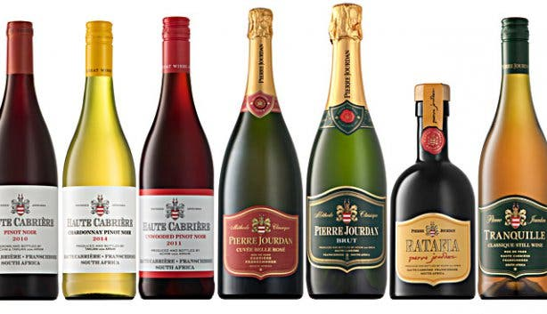 Wines from Haute Cabriere Wine Farm
