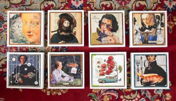 Unsung Art Online Shop Mixed Media Artworks
